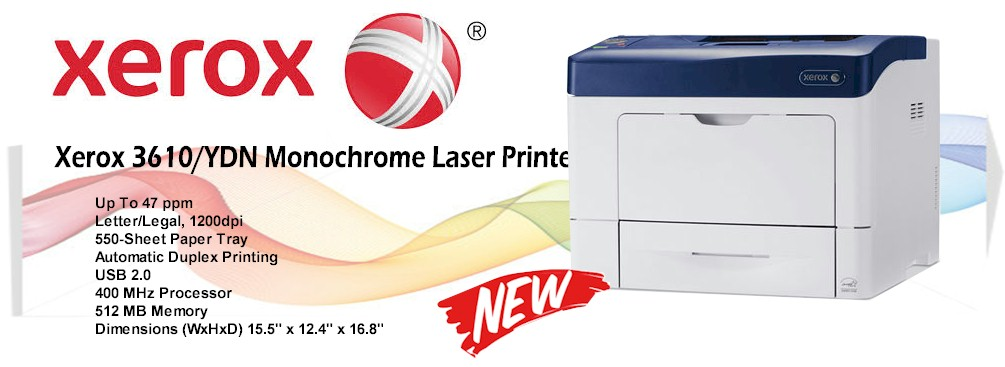 Xerox 3610 Laser Printer