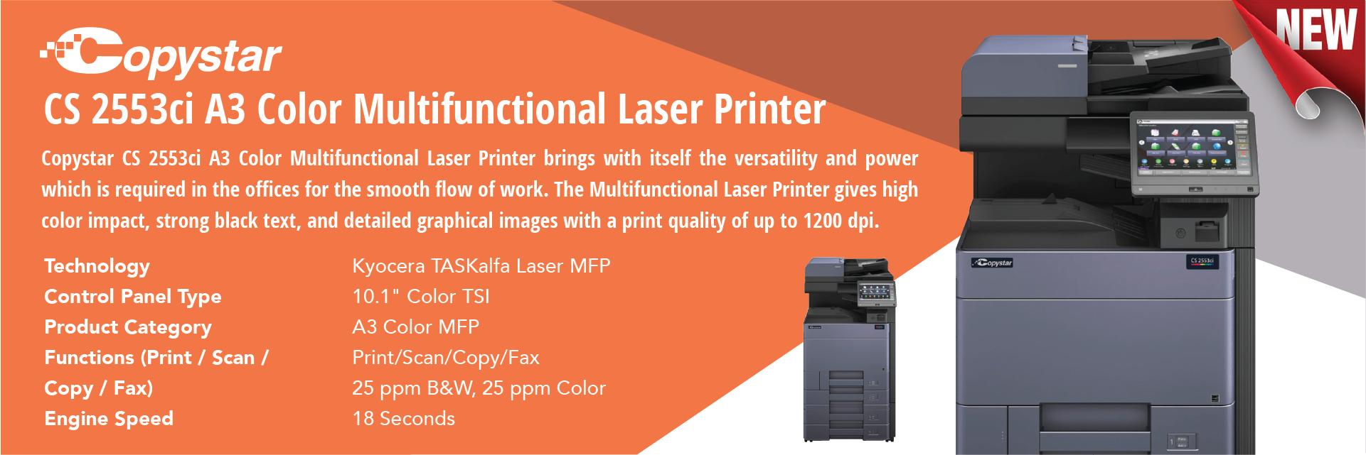 Copystar CS 2553ci A3 printer