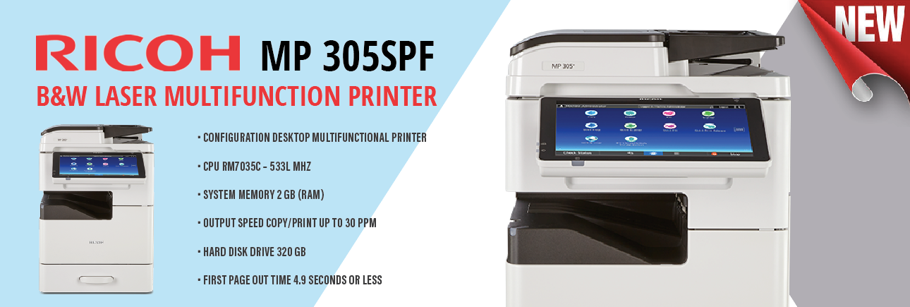 Ricoh 305SPF Printer