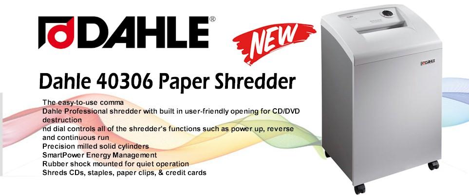 Dahle 40306 Office Shredder