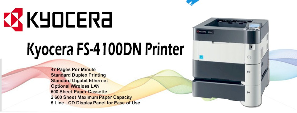 Kyocera FS-4100DN Printer