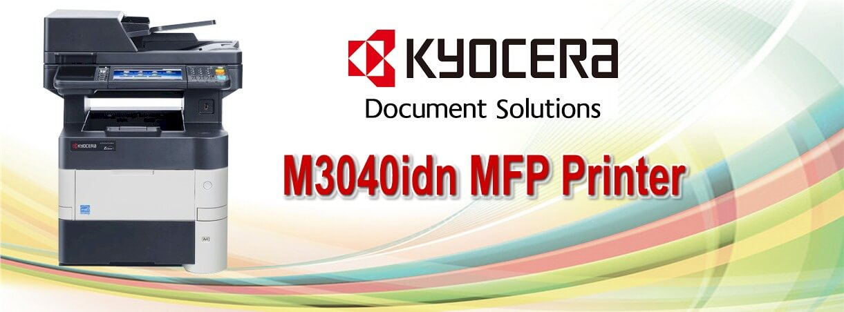 Kyocera M3040idn Mutifunction Copier