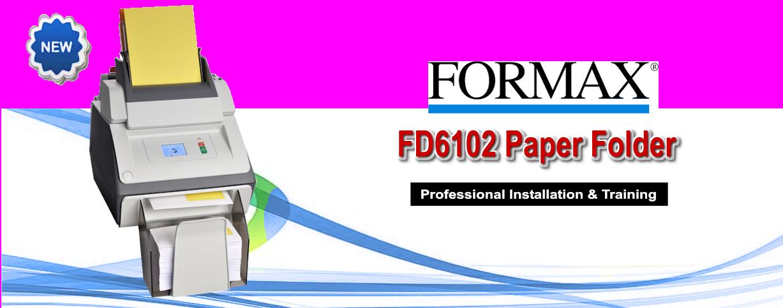 Formax FD6102 Paper Folder