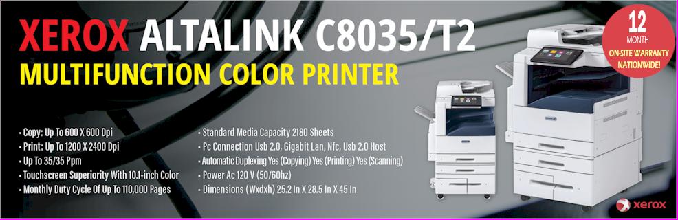 Xerox ALTLINK C8035 Copier