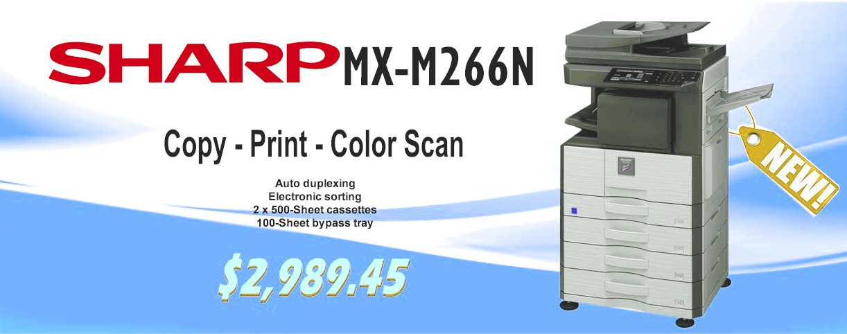 Sharp MX-M266N Copier