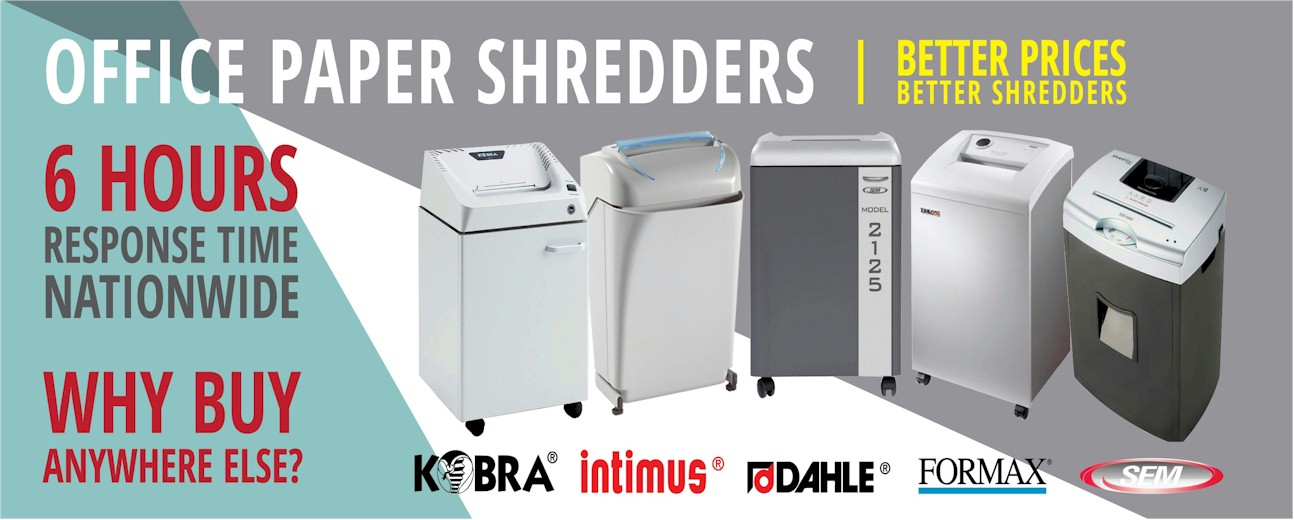 High Security Paper Shredders