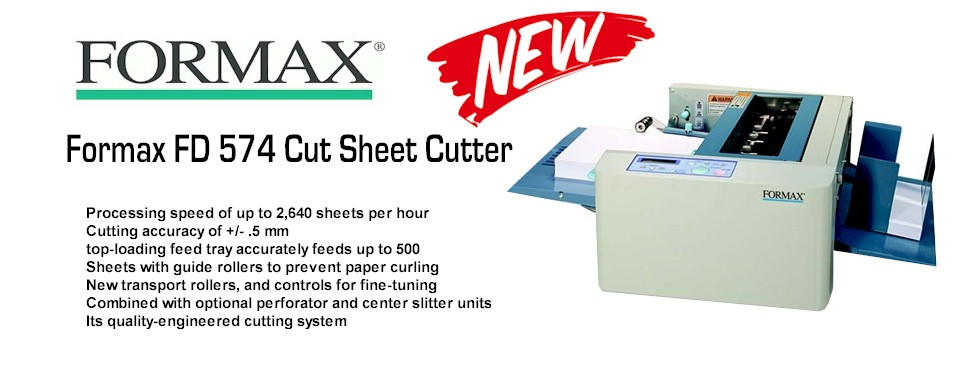 Formax Cut Sheet Cutter FD574