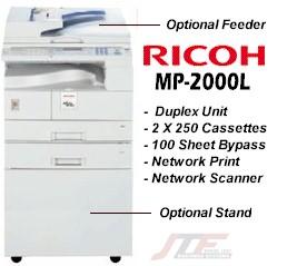Aficio MP 2000L