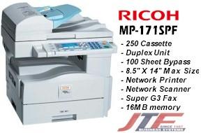 Ricoh aficio mp 171spf printer drivers download and update for.