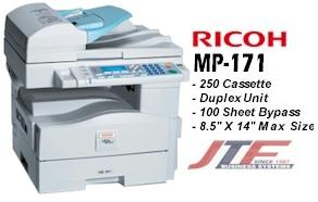 Ricoh mp 171 manuals.