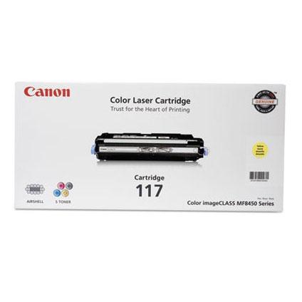 2575B001 TNC Canon Cartridge 117 Yellow Toner for Canon IMAGECLASS MF8450C Yellow Toner Cartridge Compatible with Canon 2575B001 Cartridge