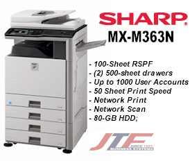 MX-M363N