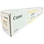 Canon 0484C003AA GPR-55 Yellow Toner Cartridge (60K Pages)