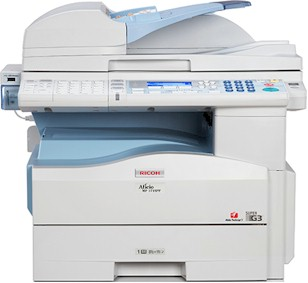 Ricoh Aficio MP-171 Copier w/ Duplex Document Feeder