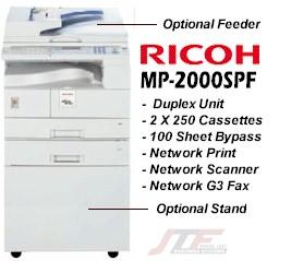 Aficio MP 2000SPF