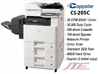 Copystar CS-205c Copier, Network Printer & Scanner, CS205C Multifunctional  System Copystar CS-205c
