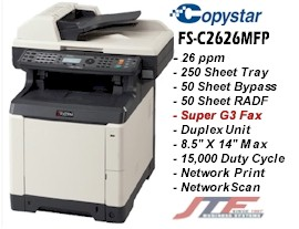 FS-C2626MFP