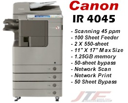 Canon Imagerunner 4045 Advance Copier Base Modelir 4045