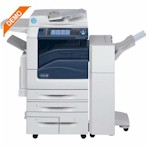 Xerox EC7856-Demo Multi-functional Color Printer comes standard w/ 130 Sheet DADF, 5 Paper Cassettes & Office Finisher