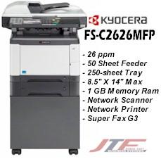 KYOCERA FS-C2626MFP DRIVER DOWNLOAD