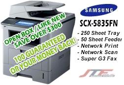 SCX 5835FN - Open