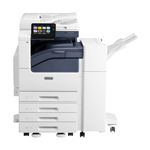 Xerox VersaLink C7025 Printer : 110 Sheet DADF, Duplex, 4-520 Sheet Trays, 100 Sheet Bypass Tray, Center Tray, Fax, Finisher