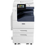 Xerox VersaLink C7030/SS2 Printer : Stand, Duplex, 2-520 Sheet Trays, 100 Sheet Bypass Tray, Center Tray, 160GB Hard Drive, 4GB