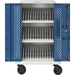 Bretford CORE36MS-CTTZ Core MS Charging Cart AC for up to 36 devices w/Rear Doors