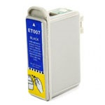 Compatible Epson T007201C Black Ink Cartridge (370 Pages)