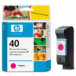 HP 51640M Magenta Ink Cartridge (1.12k Pages)