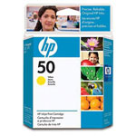 HP 51650Y Yellow Ink Cartridge (1.6k Pages)