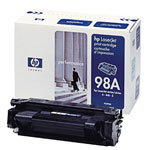 HP 92298A Type EX Black Toner Cartridge (6.8k Pages)