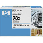 HP 92298X Black High Yield Toner Cartridge (8.8k Pages)