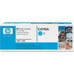 HP C4192A Cyan Toner Cartridge (6k Pages)