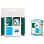 HP C4804A NO.12 Cyan Ink Cartridge (3.3k Pages)