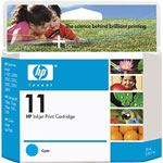 HP C4836AN No.11 Cyan Ink Cartridge (1.75k Pages)