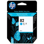 HP C4911A No.82 Cyan Ink Cartridge (1.43k Pages)