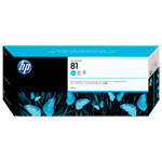 HP C4931A No.81 Cyan Ink Cartridge (1k Pages)