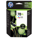 HP C6578AN No.78 Tri-Color High Yield Ink Cartridge (970 Pages)