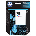 HP C6578DN No.78 Tri-Color Ink Cartridge (450 Pages)