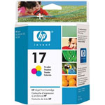 HP C6625AN No.17 Tri-Color Ink Cartridge (430 Pages)