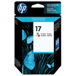 HP C6625AR No.17 Tri-Color Ink Cartridge (430 Pages)