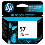 HP C6657AN No.57 Tri-Color Ink Cartridge (400 Pages)