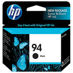 HP C8765WN No.94 Black Ink Cartridge (450 Pages)