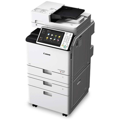 Canon ImageRunner IR-C256iF II Printer w/ all 4 drums included Canon C256IF  II