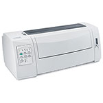 Lexmark Forms Printer 2580n+ Dot Matrix Printer : 2580 w/ Network : 2580n+