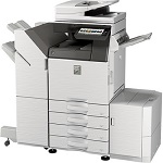 Sharp MX-3550V B&W and Color Networked Digital Multifunction Printer