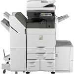 Sharp MX-3570V B&W and Color Networked Digital Multifunction Printer