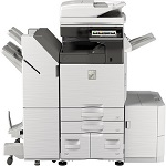 Sharp MX-4070V B&W and Color Networked Digital Multifunction Printer
