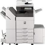 Sharp MX-6050V B&W and Color Workgroup Document Multifunction Printer